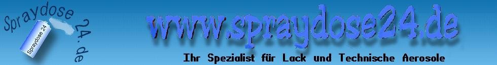 Spraydosen Shop - Lack und Technische Aerosole